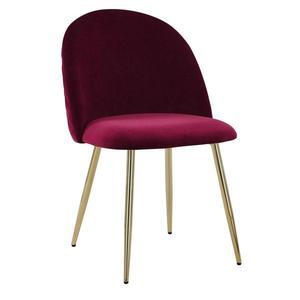 Jídelní Židle Artdeco Bordová obraz