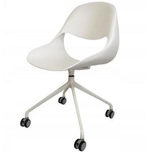 Otáčecí Židle Denver Bílý obraz