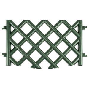 Zahradní plůtek mříž zelená obraz