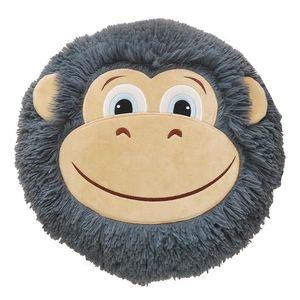 Polštář opice 32x30 šedá obraz