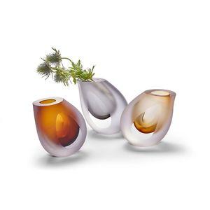 Váza Occhio, kouřová - Philippi obraz