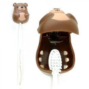 Držák na zubní kartáček - medvěd obraz