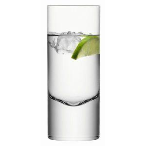 BORIS vys.sklenice 360ml, čiré set 2ks, LSA obraz