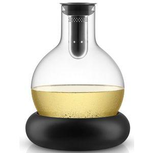 Dekantační karafa na víno s chladícím podstavcem, eva solo obraz