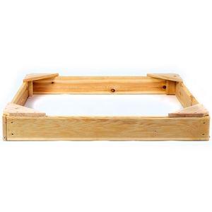 Marimex Dřevěné pískoviště čtyřhranné malé - 11640431 obraz