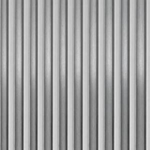 Vlnitý hliníkový plech 500x250 obraz