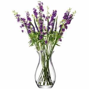 FLOWER Grand Posy skleněná váza 32cm, LSA, Handmade obraz