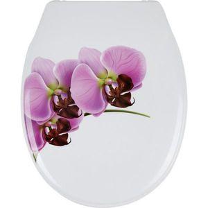 Sadena WC SEDÁTKO - růžová, bílá obraz