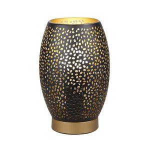 Candellux Stolní lampa Venus 1xE27/60W/230V černá/zlatá obraz
