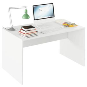 PC stůl, grafit / bílá, Rioma TYP 11 0000185732 Tempo Kondela Bílá obraz