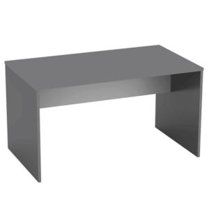 PC stůl, grafit / bílá, Rioma TYP 11 0000185732 Tempo Kondela Grafit / bílá obraz