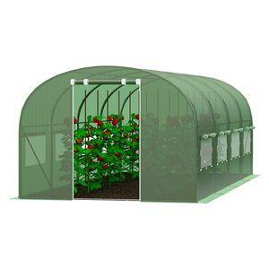 Zahradní fóliovník 3x6m zelená obraz