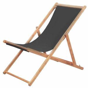 Skládací plážová židle látková obraz