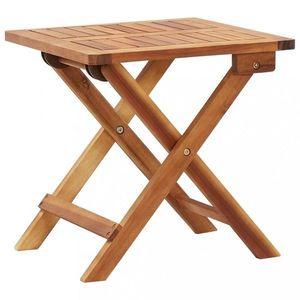 Skládací zahradní stolek akácie Dekorhome obraz