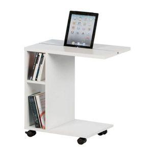 Příruční stolek NIDEN Tempo Kondela Bílá obraz