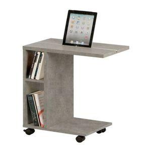 Příruční stolek NIDEN Tempo Kondela Beton obraz