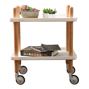 Servírovací stolek PONTO Tempo Kondelo Bílá obraz