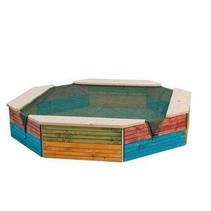 Woody Pískoviště dřevěné - barevné obraz