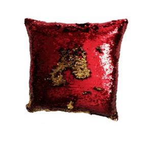JAHU MAGIC Povlak na polštář s flitry 40 x 40 cm - červená obraz