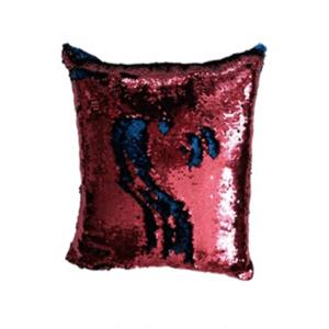 JAHU MAGIC Povlak na polštář s flitry 40 x 40 cm - růžová obraz
