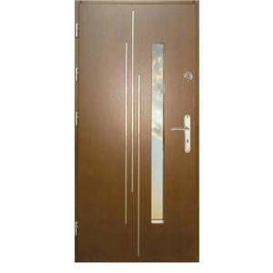 Vchodové dveře WZ 62 90L zlatý dub otevírání ven obraz