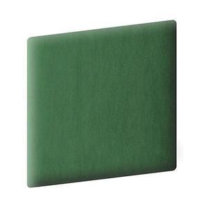 Čalouněný panel 30/30 tmavě zelená obraz