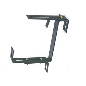 Držák samozavlažovacího truhlíku kovový nastavitelný 2ks, antracitová obraz