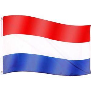 Tuin 60923 Vlajka Nizozemí - 120 cm x 80 cm obraz