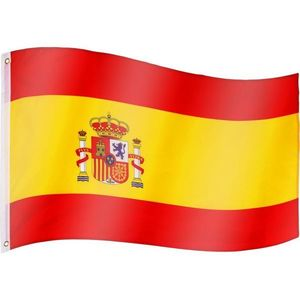 Tuin 60917 Vlajka Španělsko - 120 cm x 80 cm obraz