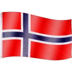 Tuin 60920 Vlajka Norsko - 120 cm x 80 cm obraz