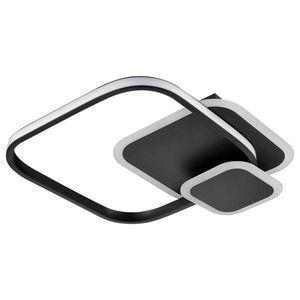Boxxx STROPNÍ LED SVÍTIDLO, 40/38/6 cm - černá, bílá obraz