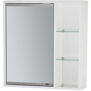 Závěsná skříňka se zrcadlem bílá Maja 60 obraz