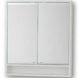 Závěsná skříňka se zrcadlem bílá Viki 70 obraz