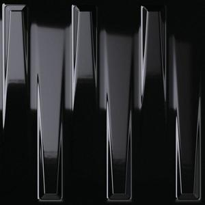 Dekor Dutton Black Gloss 25/25 obraz