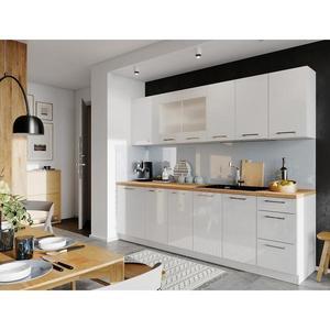Kuchyňská Linka Vita 260 Bílá/Lesk Bb obraz