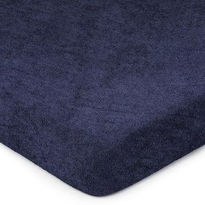 Froté prostěradlo (160 x 200 cm) - tmavě modré obraz