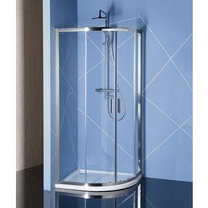 POLYSAN EASY LINE čtvrtkruhová sprchová zástěna 1200x900mm, L/R, čiré sklo EL2715 obraz