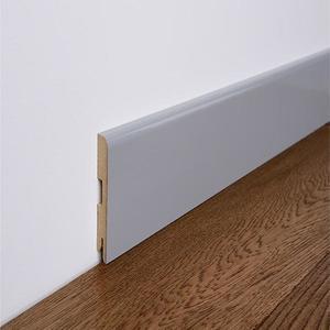 Podlahová lišta MDF Foge LB2 100 bílá polmat obraz