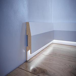 Podlahová lišta MDF Foge LED LB9 bílá polmat obraz