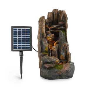 Blumfeldt Magic Tree, solární fontána, LED osvětlení, polyresin obraz