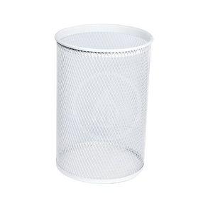 SANELA Drátěné koše Odpadkový koš, 13 l, bílá SLZN 96A obraz