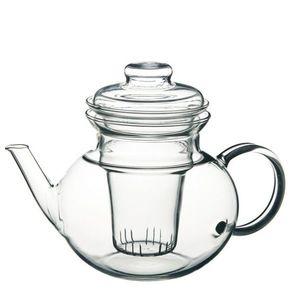 Simax Skleněná konvice na čaj Eva s nálevkou a skleněným filtrem 1 l obraz