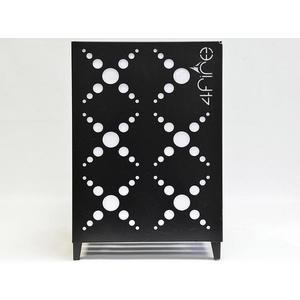 Ohniště přenosné čtverec 4PKSK 53x38x38cm čierny obraz