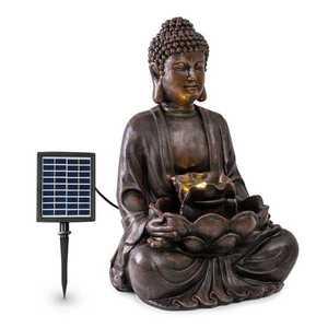 Blumfeldt Dharma, solární fontána, LED, 48 × 72 × 41 cm (Š × V × H), polyresin obraz