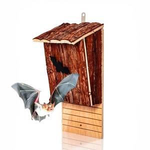 Blumfeldt Domeček pro netopýry, ptačí budka, pomoc při přezimování, celoročně obyvatelný, jedlové dřevo obraz