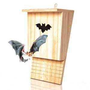 Blumfeldt Domeček pro netopýry, ptačí budka, pomoc při přezimování, celoročně obyvatelný, borovicové dřevo obraz