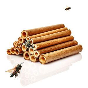 Blumfeldt Bambusové dutinky, 70ks, délka 10 cm, barva dřeva obraz
