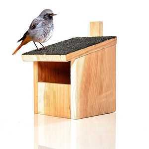 Blumfeldt Ptačí budka, závěsná, asfaltová střecha, červené cedrové dřevo obraz