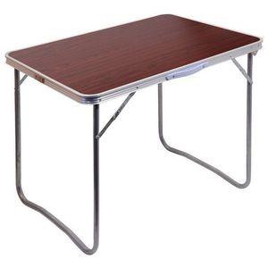Cattara BALATON Stůl kempingový skládací hnědý obraz