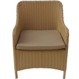 Židle ratan Olaf béžový obraz
